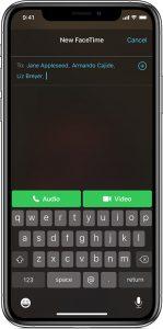 Come fare chiamate di gruppo con FaceTime su iPhone e iPad