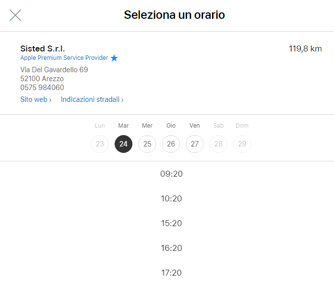 Come prenotare un appuntamento con Genius Bar Apple Store