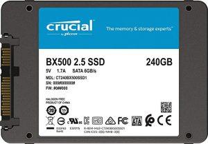 Crucial BX500 240 GB SATA
