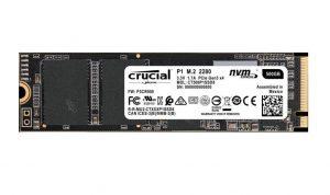 Crucial P1 NVMe PCIe 1 TB