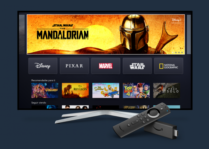 Disney+ su Amazon Fire TV