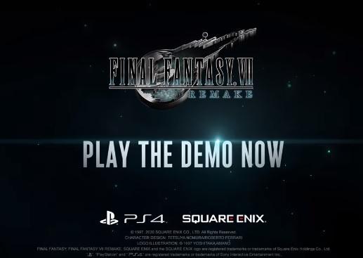 Final Fantasy VII Remake demo download
