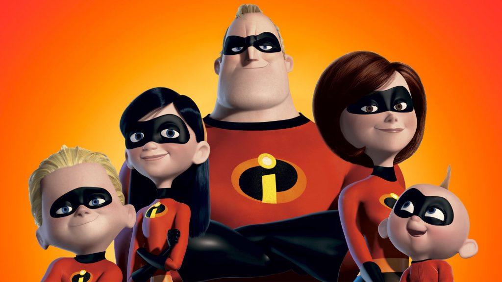 Gli Incredibili - migliori film di animazione