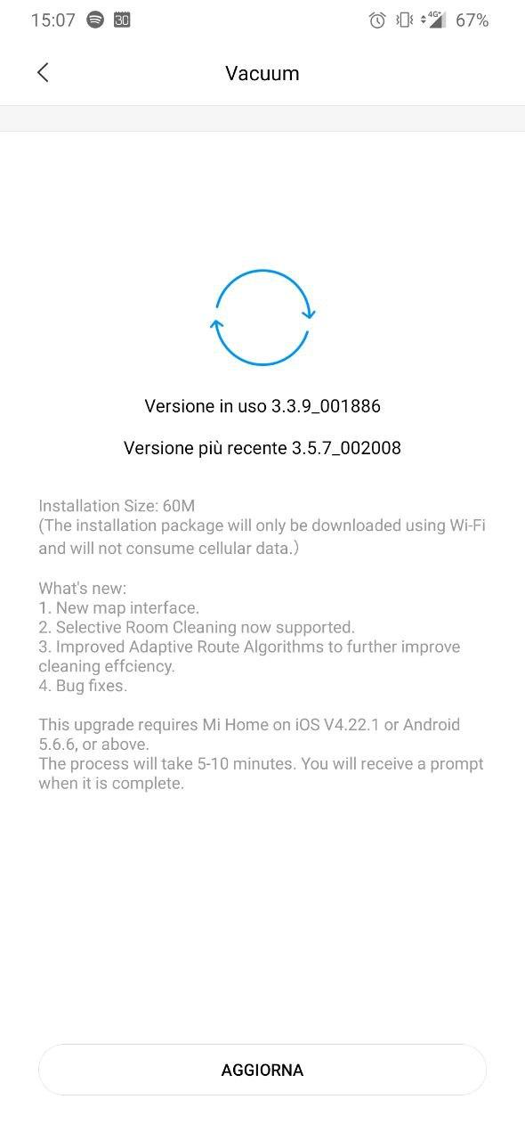Xiaomi Mi Robot Vacuum 2 è ora in grado di riconoscere le stanze 1