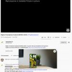 Google testa un pulsante picture-in-picture nei controlli multimediali di Chrome 3
