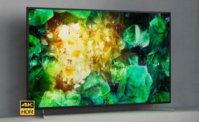 Sony XH81 smart TV