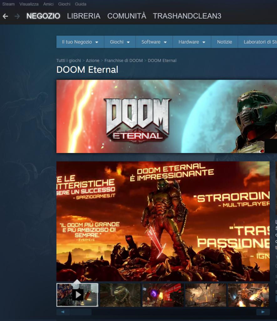 come acquistare un videogioco su Steam