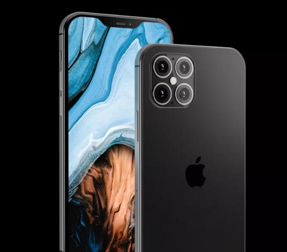 iPhone 12 Pro render con elementi simili a iPhone 4