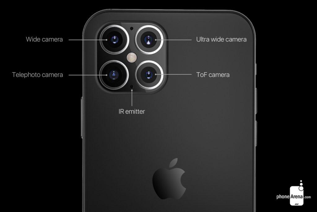 iphone 12 pro max sensore 3d profondità rumor