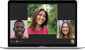 come fare chiamate di gruppo con FaceTime su Mac