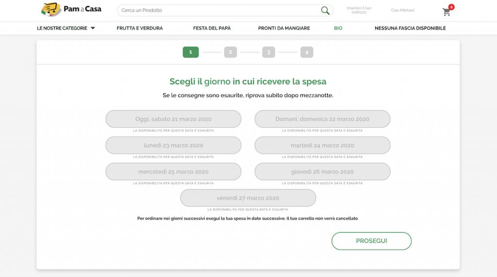 Spesa online impossibile a Milano e non solo, la situazione aggiornata e consigli 8