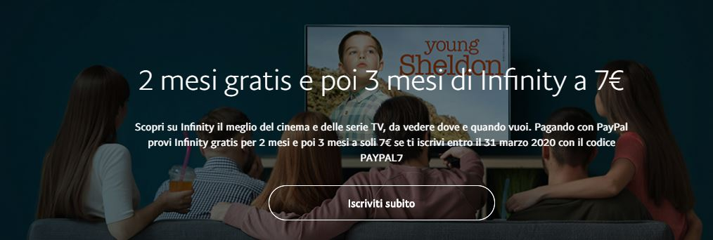 PayPal Infinity TV