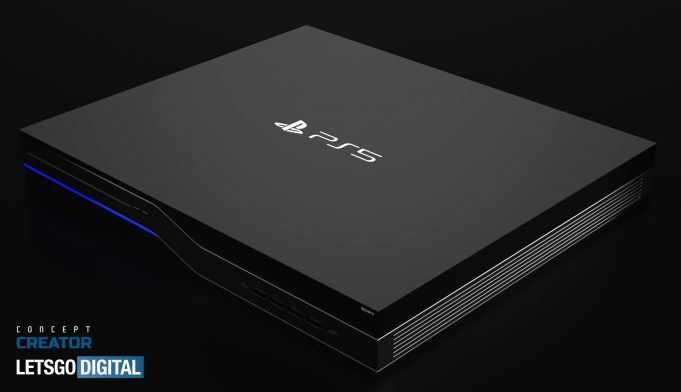 sony playstation 5 design concept