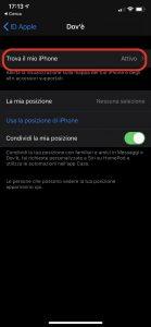 Come trovare iPhone in modalità offline