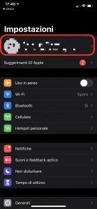 Come attivare portachiavi iCloud su iPhone