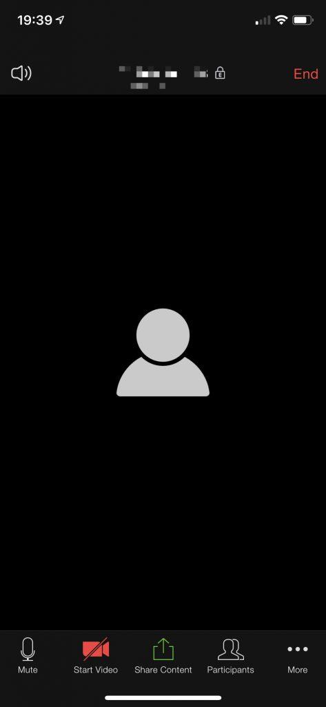 Come avviare una videochiamata Zoom da smartphone