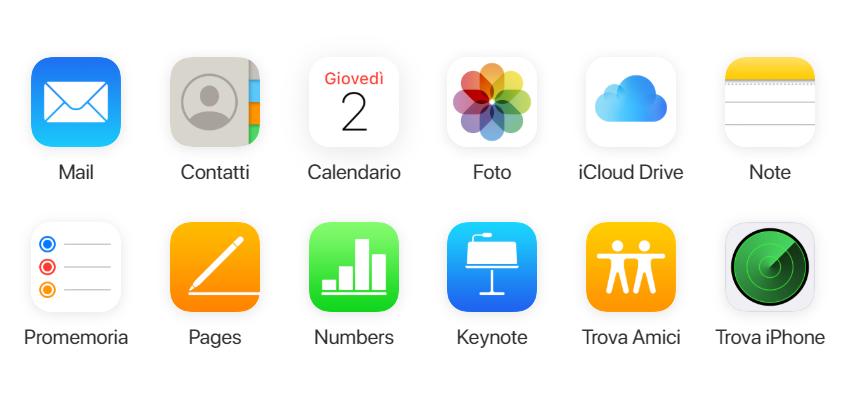 Come accedere su iCloud