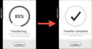Come funziona WeTransfer