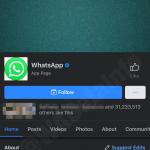 Facebook Modalità scura iOS
