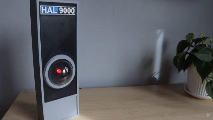 HAL 9000 Google Assistant