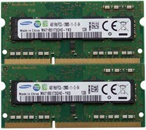 Samsung RAM 8 GB (2 x 4) DDR3
