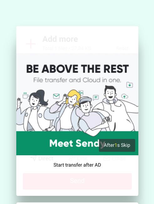 Come funziona Send Anywhere