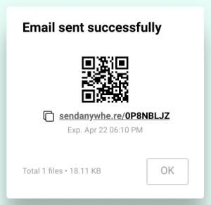 Clicchiamo sul pulsante + Selezioniamo il file o i file da caricare Selezioniamo con quale metodo vogliamo inviare i file : Direct, Link o Email Clicchiamo sul pulsante Send