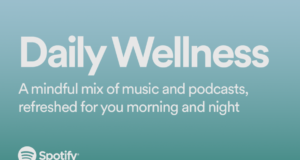 Spotify Daily Wellness playlist