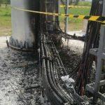 antenne a fuoco a Caserta