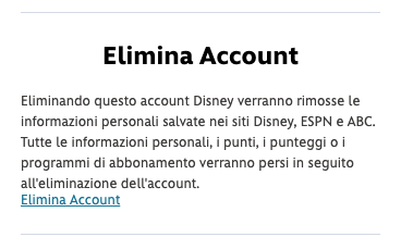 Come cancellare definitivamente l'account Disney+ 2