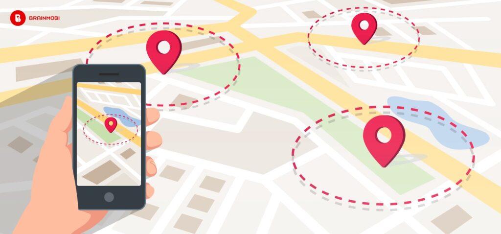 geofencing google maps