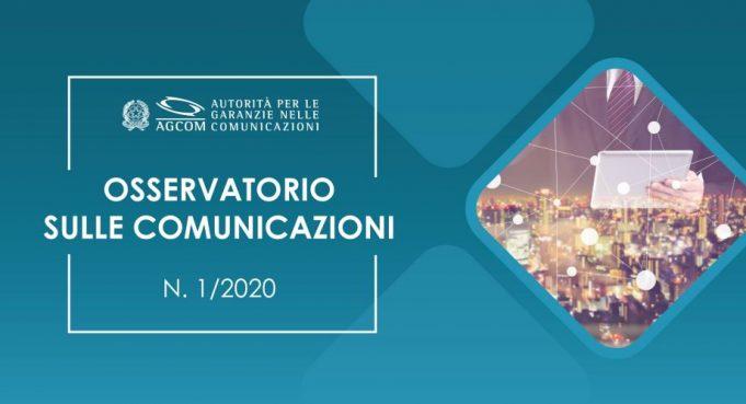 osservatorio sulle comunicazioni 2020 agcom
