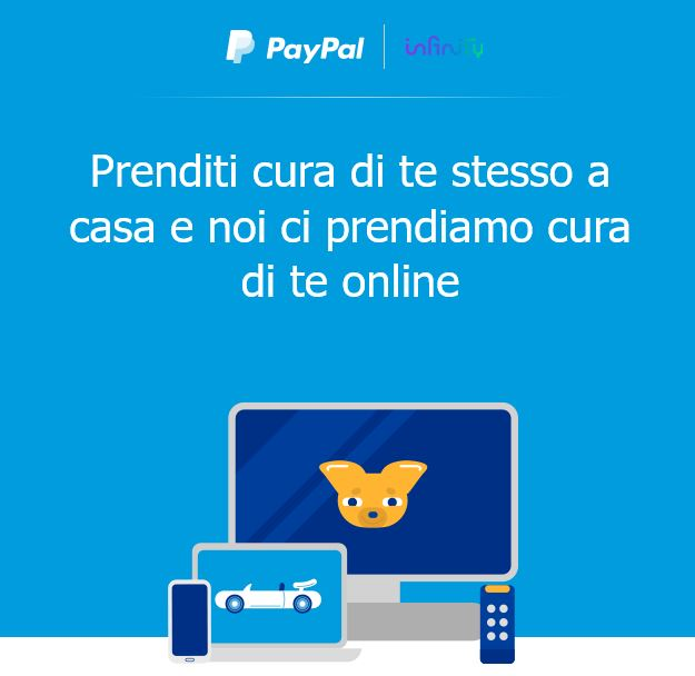 paypal infinity promo