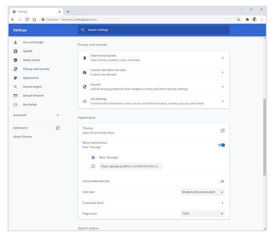 Google Chrome 83 introdurrà controlli più intuitivi per privacy e sicurezza 1