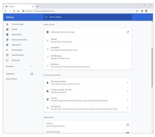 Google Chrome 83 introdurrà controlli più intuitivi per privacy e sicurezza 2