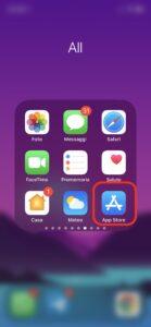 come aggiornare le app App Store