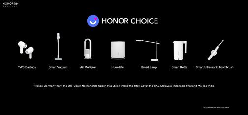 HONOR annuncia una nuova serie di prodotti Smart Life per i mercati globali 7