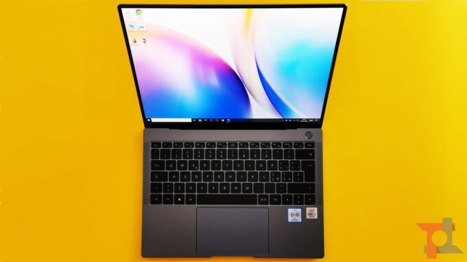 Huawei Matebook X Pro 2020 display