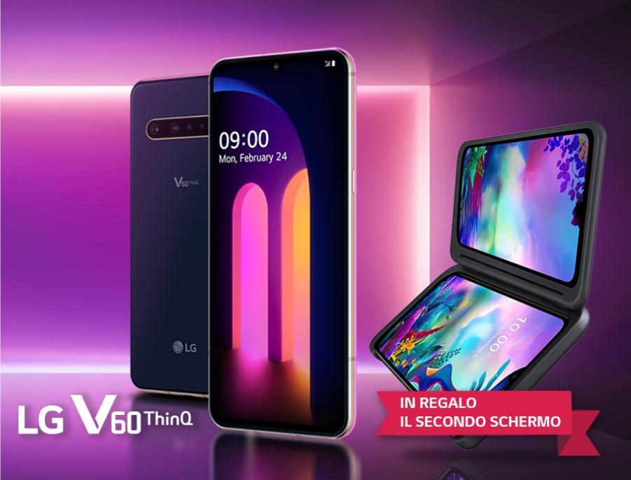LG V60 ThinQ offerta LG Dual Screen