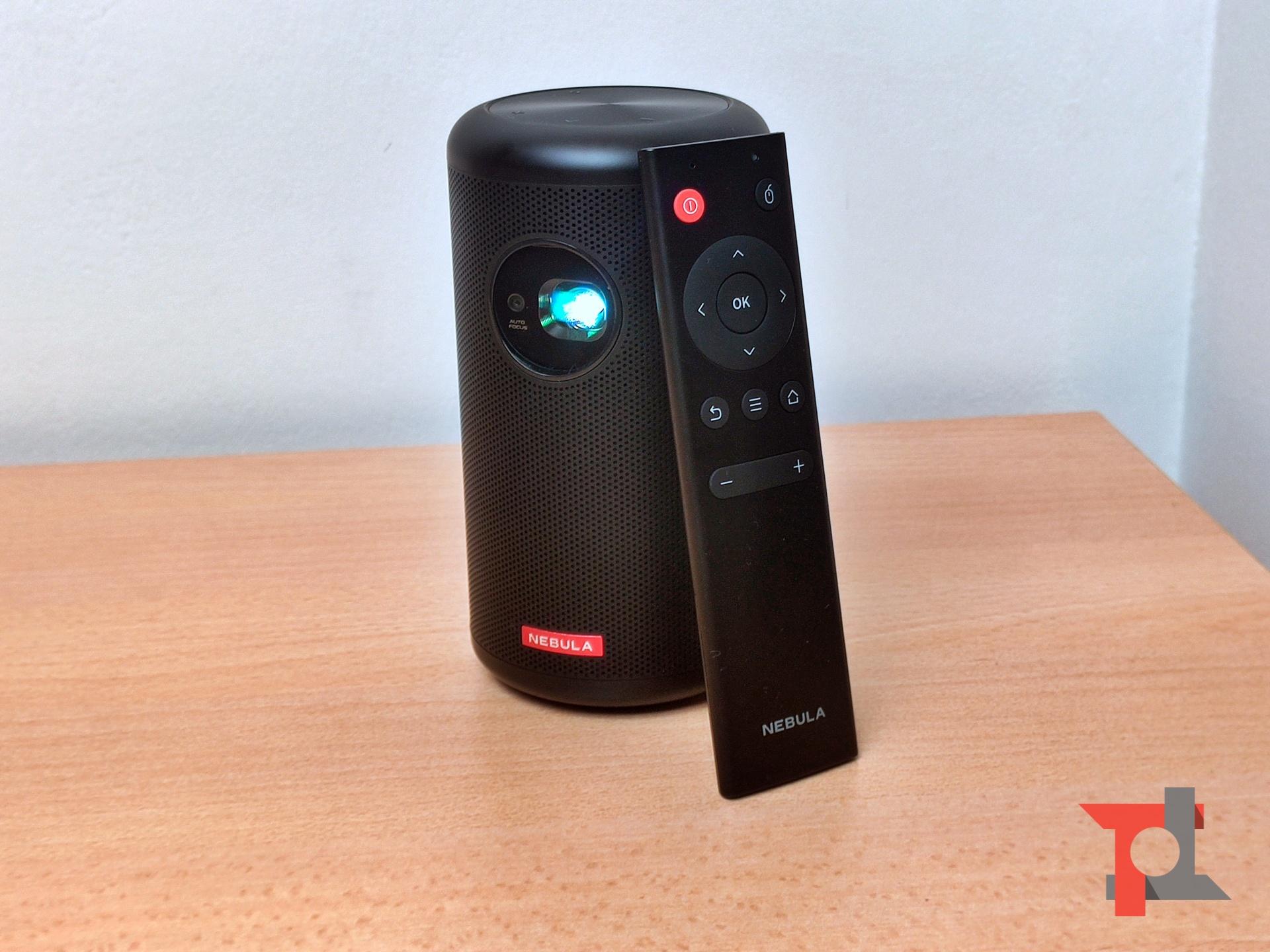 Recensione NEBULA Capsule Max, un videoproiettore portatile davvero eclettico 5