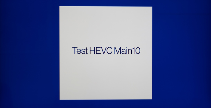 Test Hevc Main 10 digitale terrestre