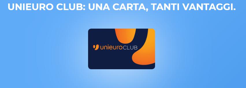 Unieuro Club carta
