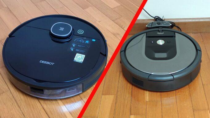 Roomba 960 Deebot 920