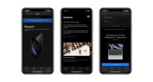 apple store app modalità scura disponibile