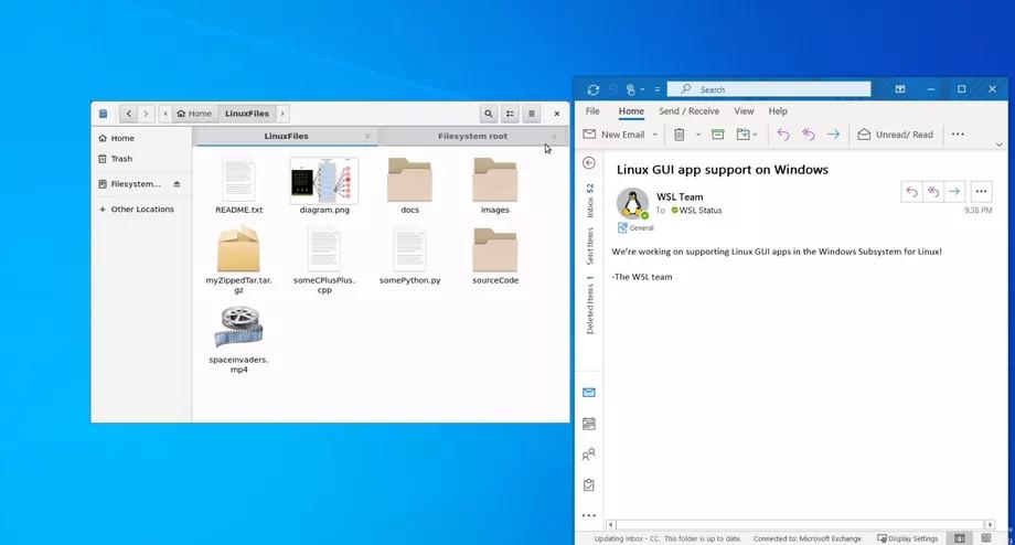 linux gui windows 10
