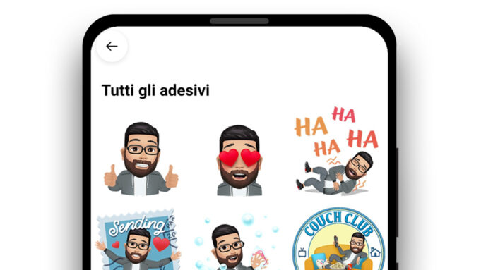 come usare facebook avatar whatsapp
