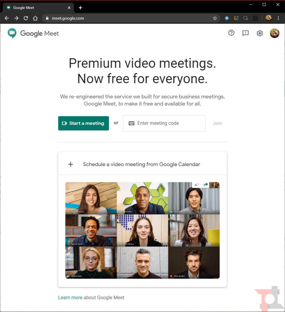 google meet visual effects come funziona