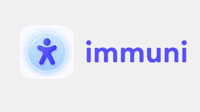 immuni app schermate ui