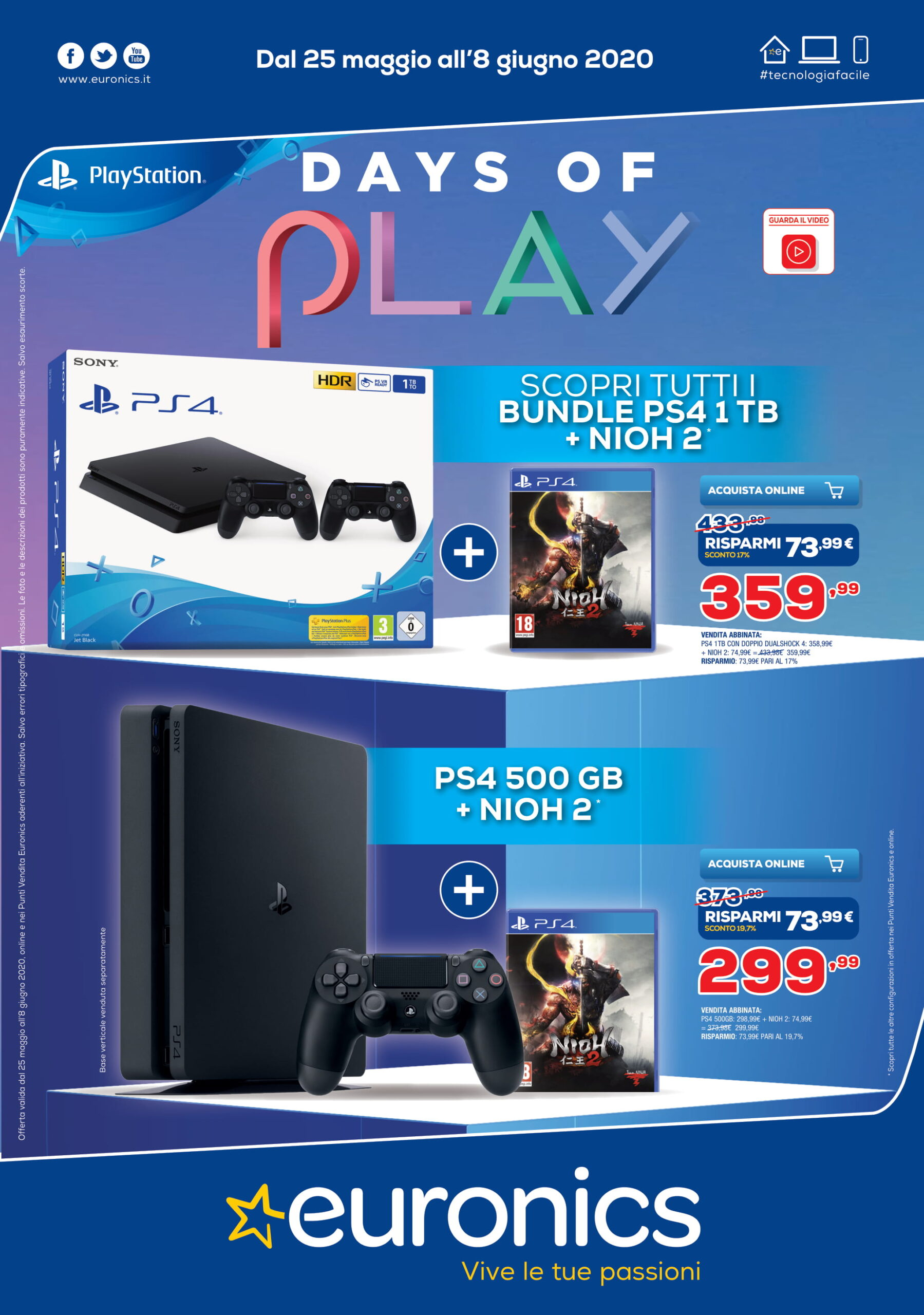 PlayStation Days of Play Euronics