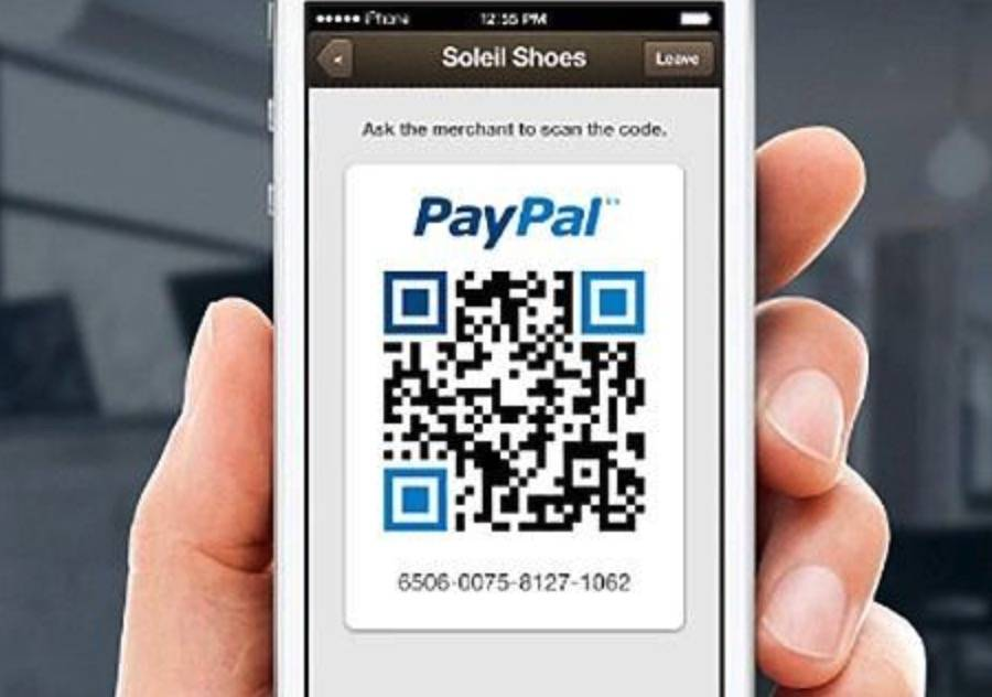 PayPal codice QR